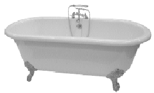 Saninova Shower Bath Baths Kaldewie 100 Freestanding